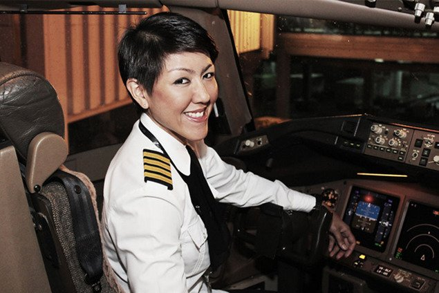 Capitana Sharifah Czarena de Royal Brunei Airlines