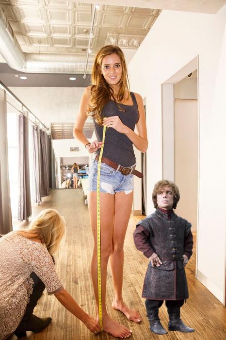 Batalla Reddit chica piernas largas con Tyrion Lannister