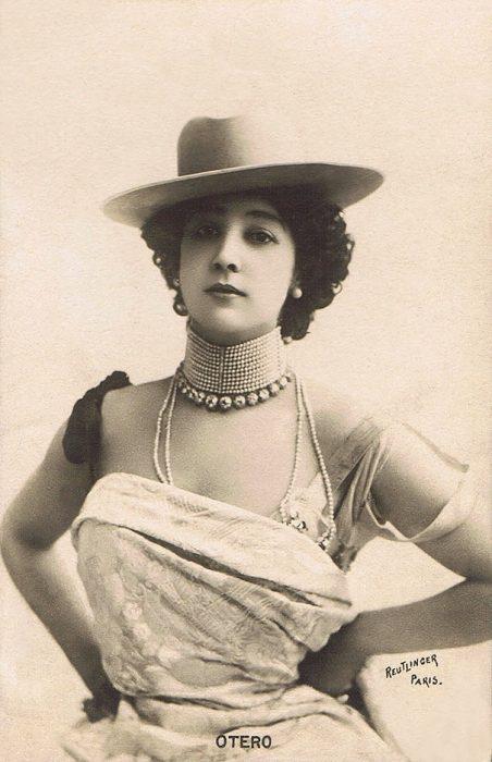 fotografía antigua de Carolina Otero