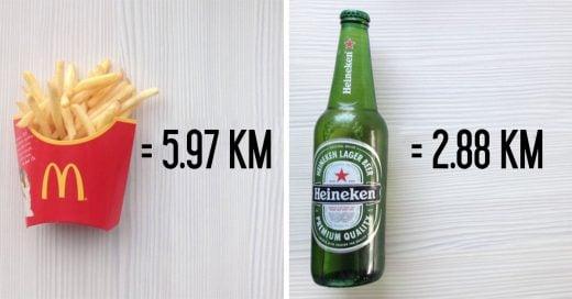 Cuántos kilómetros tienes que correr para quemar las calorías de los alimentos que consumes