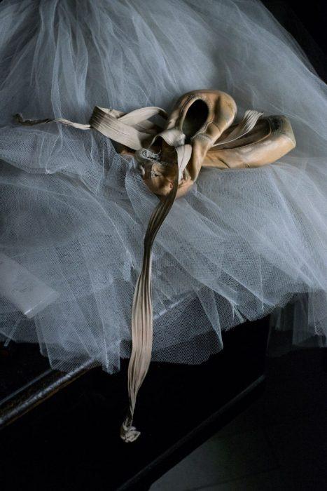 Pertenencias de una bailarina de ballet