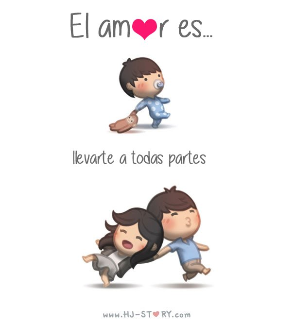 25 Ilustraciones Que Expresan Lo Que El Amor De Pareja Es