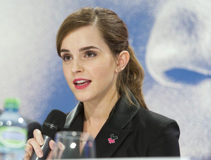 Emma Watson en discurso de la ONU