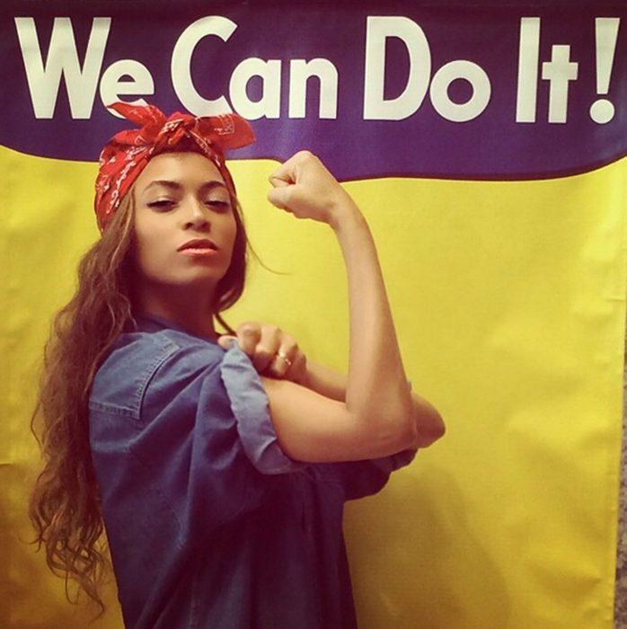 Beyonce pin up