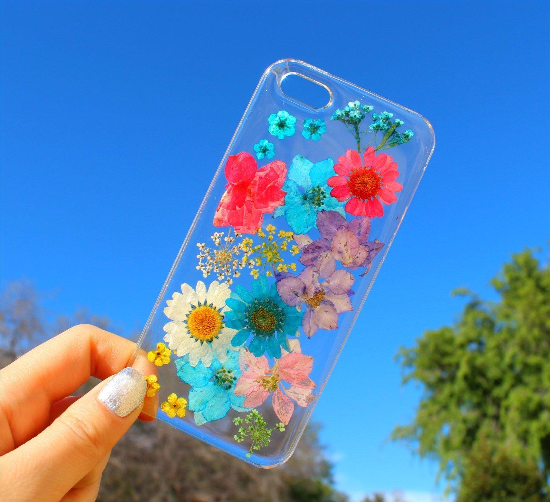 Fundas para el celular con flores reales para la primavera for Aplicaciones para decorar el movil