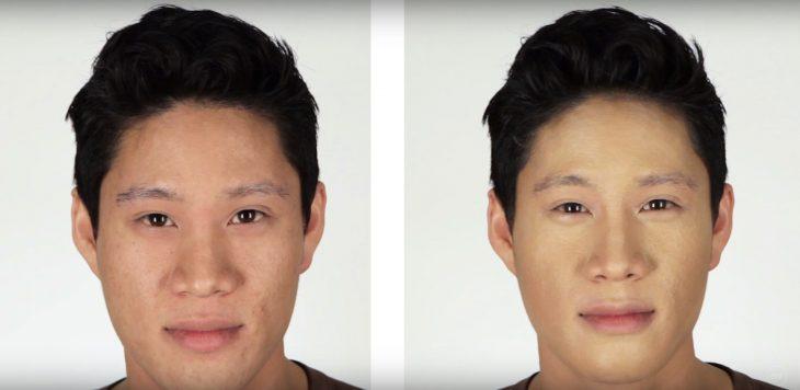 Hombres contornean su rostro (4)