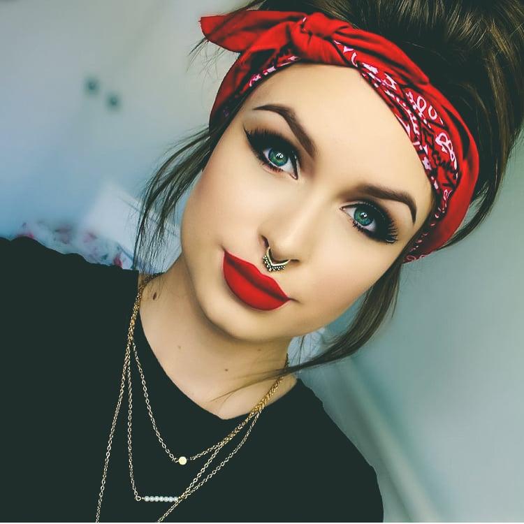 chicas con piercing