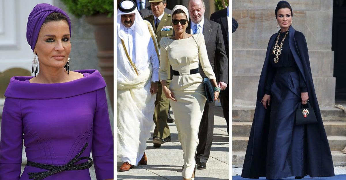 Una de las mujeres que se encuentra fuera del estereotipo conservador es la Jequesa Mozah Bint Nasser al Missned, una de las tres mujeres del ex emir de Qatar, y quien a sus 56 años es un ejemplo de belleza, inteligencia y porte