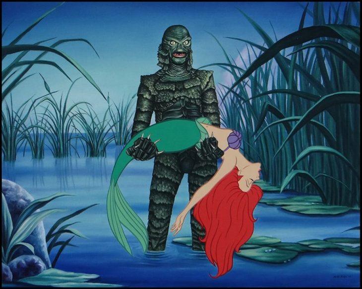 Ariel y el monstruo del Lago Ness