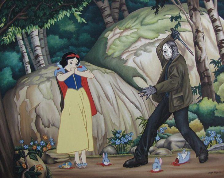 Blancanieves y Jason