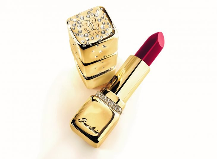 Labial KissKiss Gold and Diamonds de Guerlain