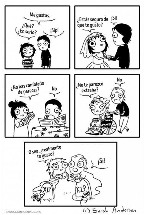 Ilustración cuando le gustas a alguien