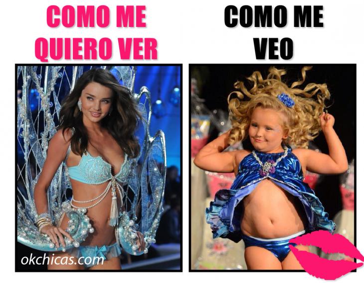 expectativa vs realidad mujer con bikini angel victoria
