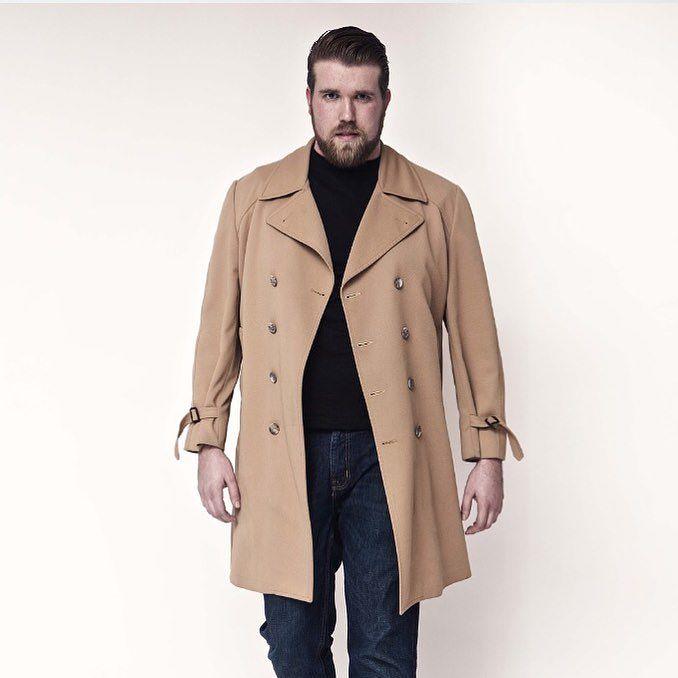 Primer modelo masculino talla plus size llamado Zach Miko