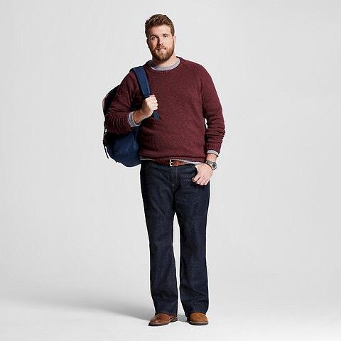 Zach Miko primer modelo masculino talla plus size