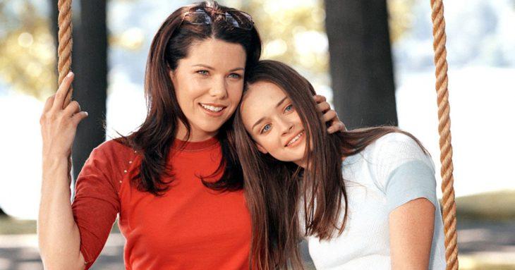 Madre e hija de la serie gilmore girls