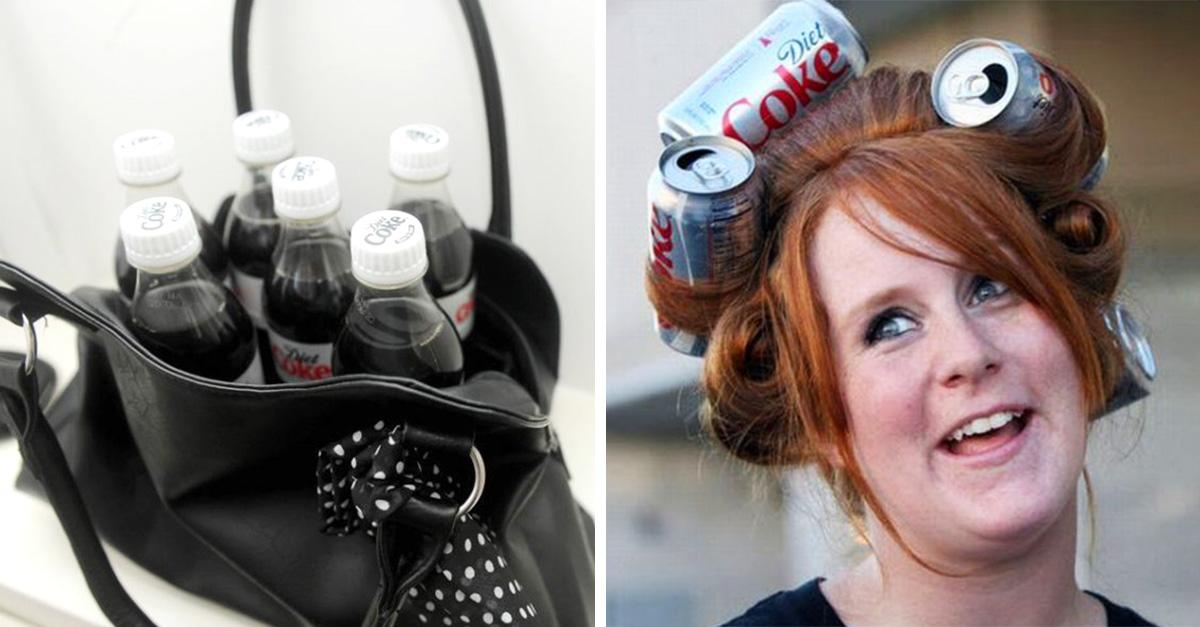 Poblemas que viven las chicas adictas a la Coca Cola Light