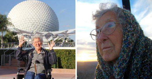 Esta anciana de 90 años decide viajar por carretera en lugar de tratarse contra el cáncer