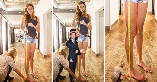 Batalla de reddit con foto de la chica de las piernas más largas de EU