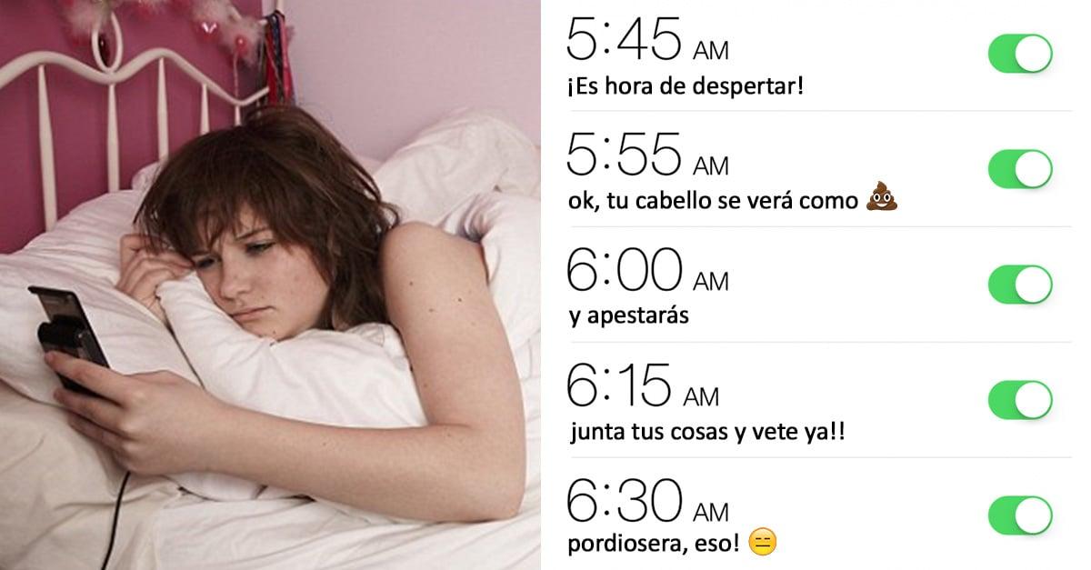 Cosas que las chicas que odian las mañanas entenderan