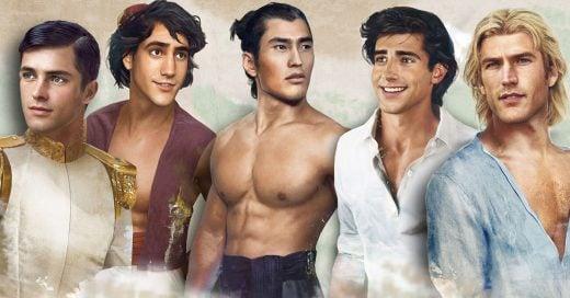 ¿Cuál era tu príncipe favorito de Disney? Así es el tipo de hombre que estás buscando