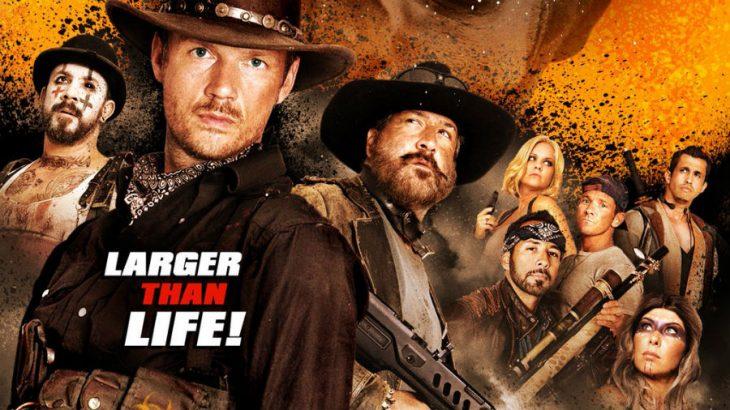 poster de película dead 7 bsb y nsync cuatreros y vaqueros