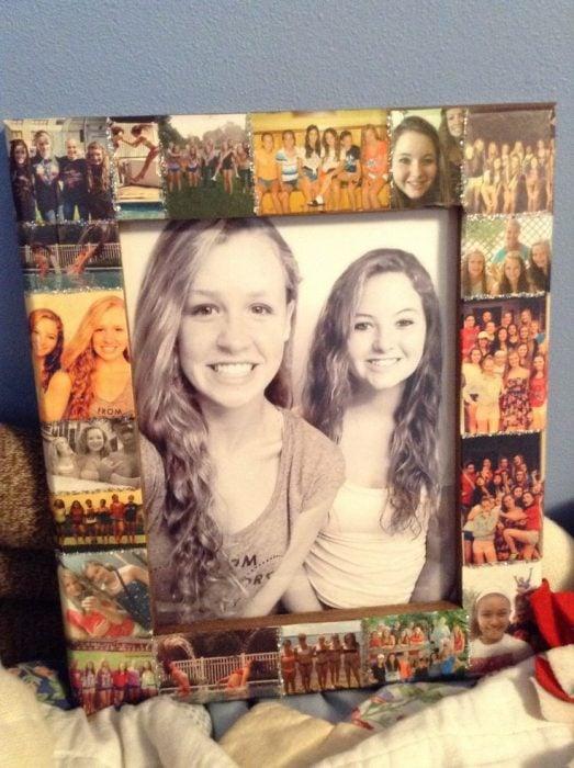 porta retrato con fotos para tu mejor amiga