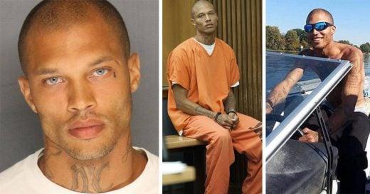 """El """"delincuente más sexy"""" sale de prisión"""
