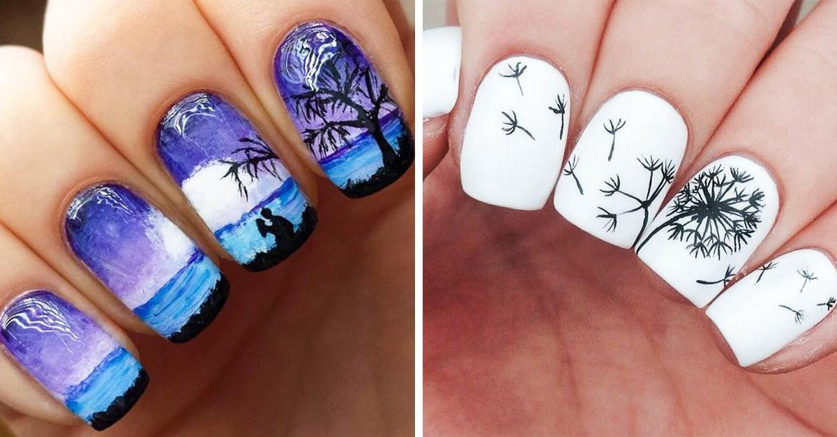 diseños de uñas que cuentan una historia