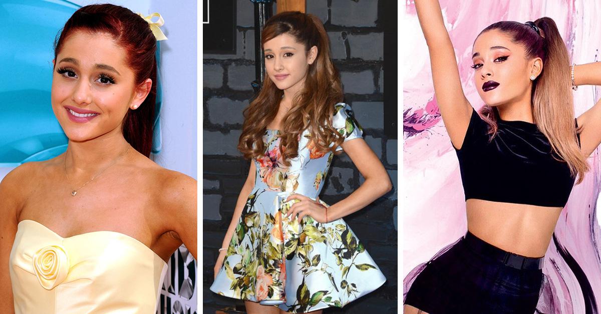 Evolución de Ariana Grande