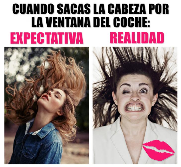 expectativa vs realidad de mujeres mujeres