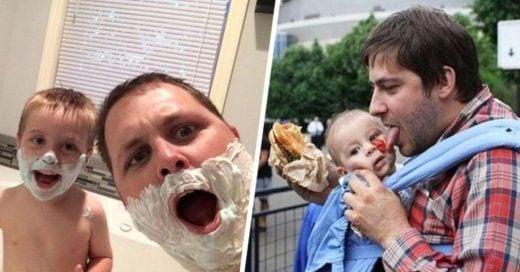 25 Fotografías que reflejan los mejores momentos con tu bebé