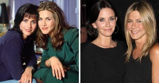 Así se ven los actores de Friends 21 años despues