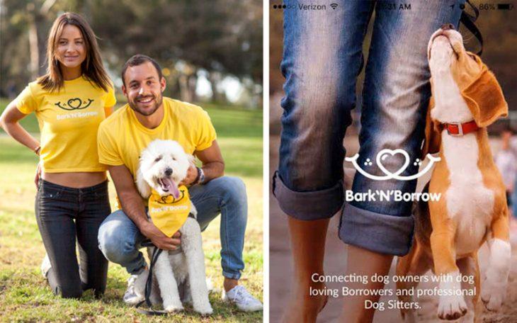 aplicación para perros bark n borrow screen shot