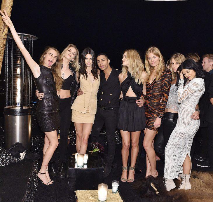 mujeres famosas en la fiesta kilye