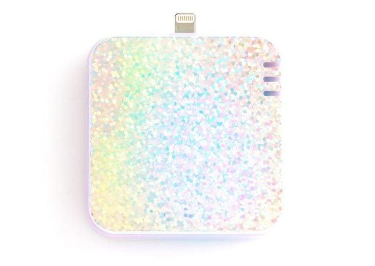 cargador para ipod portatil con brillos regalos mejor amiga