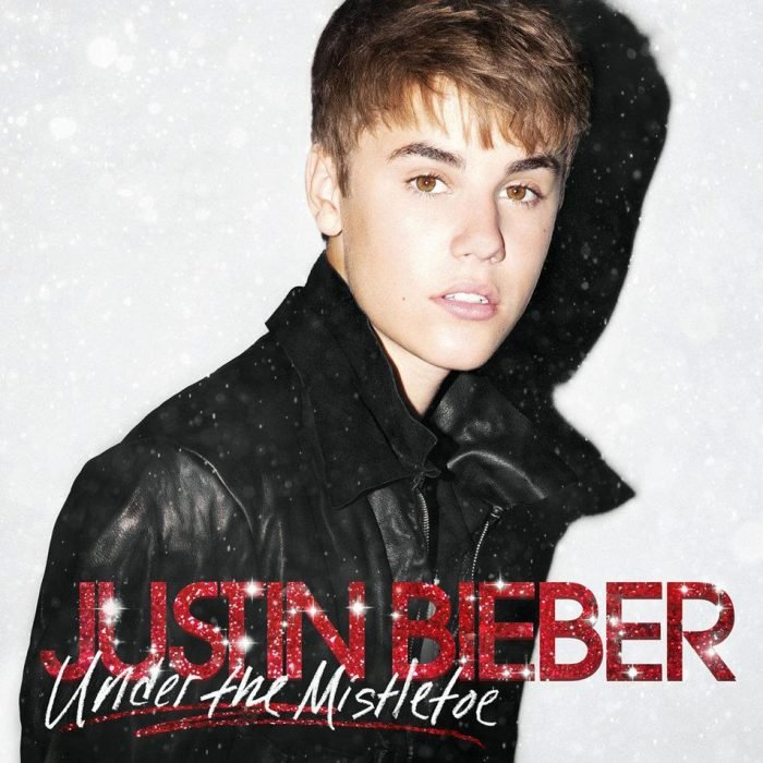 justin bieber disco under the misteltoe navidad portada
