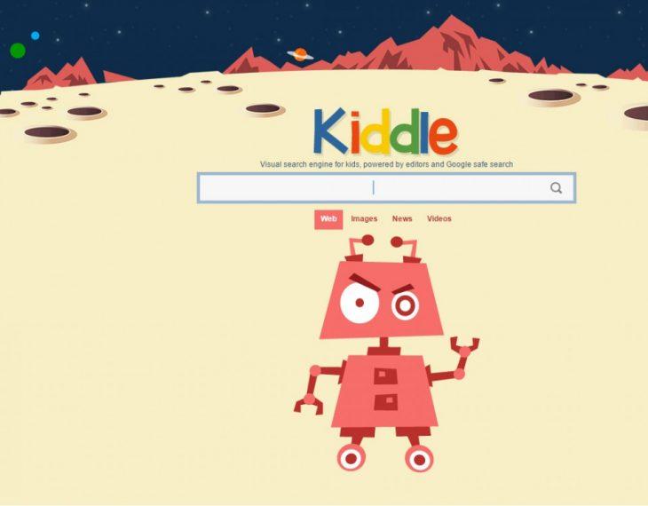 kiddle buscador restringido en linea para niños