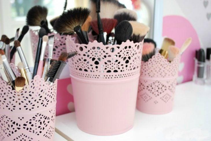 canastas para organizar maquillaje regalo mejor amiga