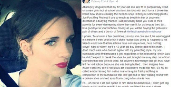carta de madre molesta con su hijo en facebook