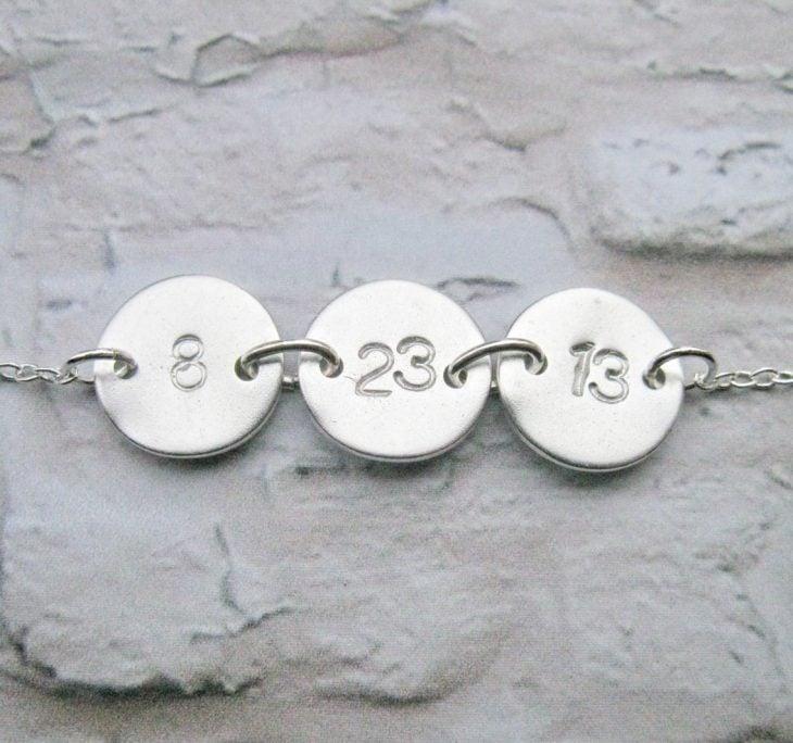 brazalete con fecha romántica para pareja