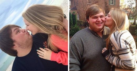 En internet llamaron a su novio feo y gordo, y ella supo cómo enfrentar estas ofensas