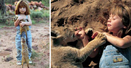 Historia de Tippi Benjamine Okanti Degré la niña que creció en la selva