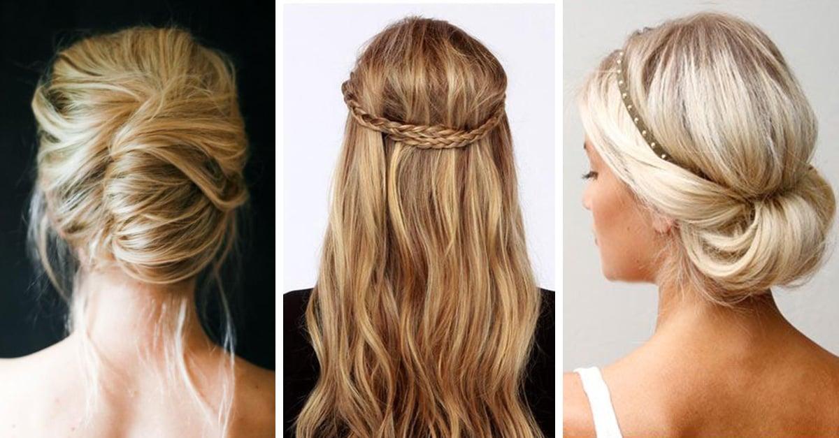 Resultado de imagen para peinados sencillos para mujer
