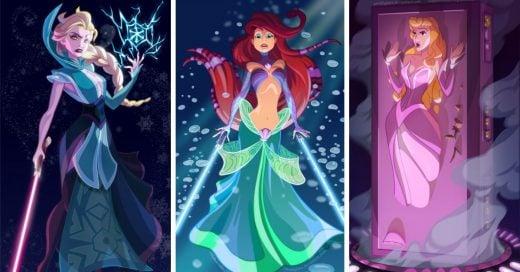 Ralph Sevelius es un artista que se inspiró en la compra de Disney sobre Lucasfilm para convertir a nuestras amadas princesas en personajes de Star Wars