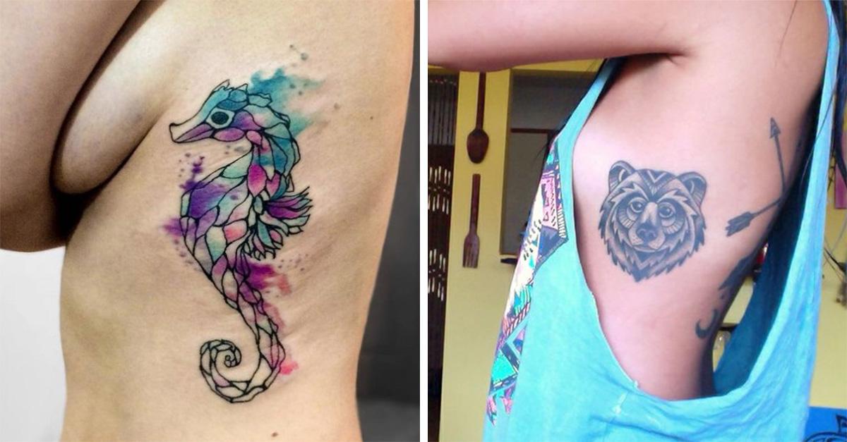 15 Tatuajes Para Las Costillas Perfectos Para Mujeres