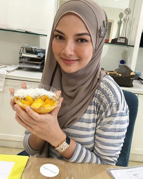 Noor Neelofa Mohd Noor de Malasia