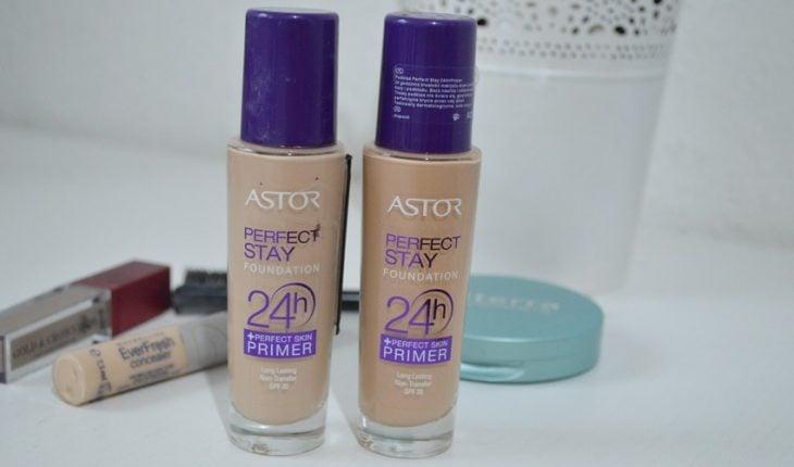 maquillaje líquido marca Astor