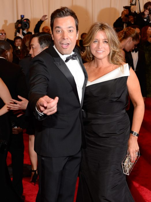 Nancy Juvonen y Jimmy Fallon