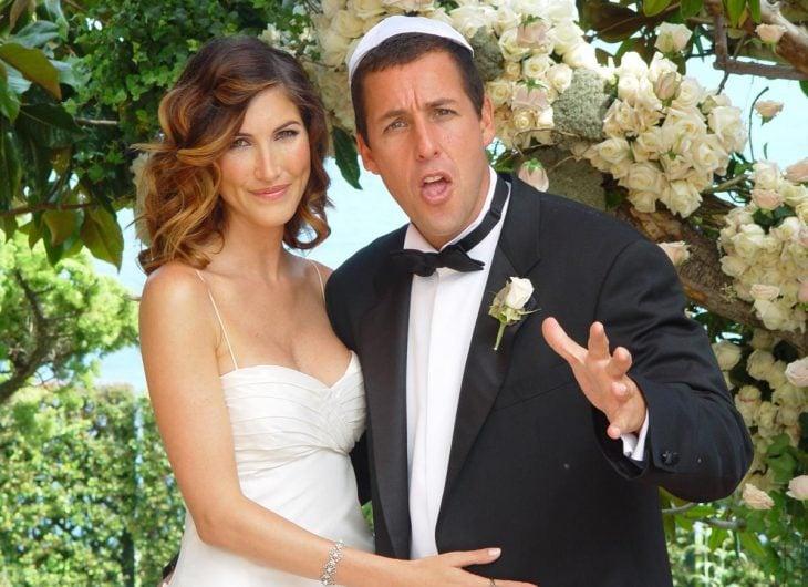 Adam Sandler y esposa